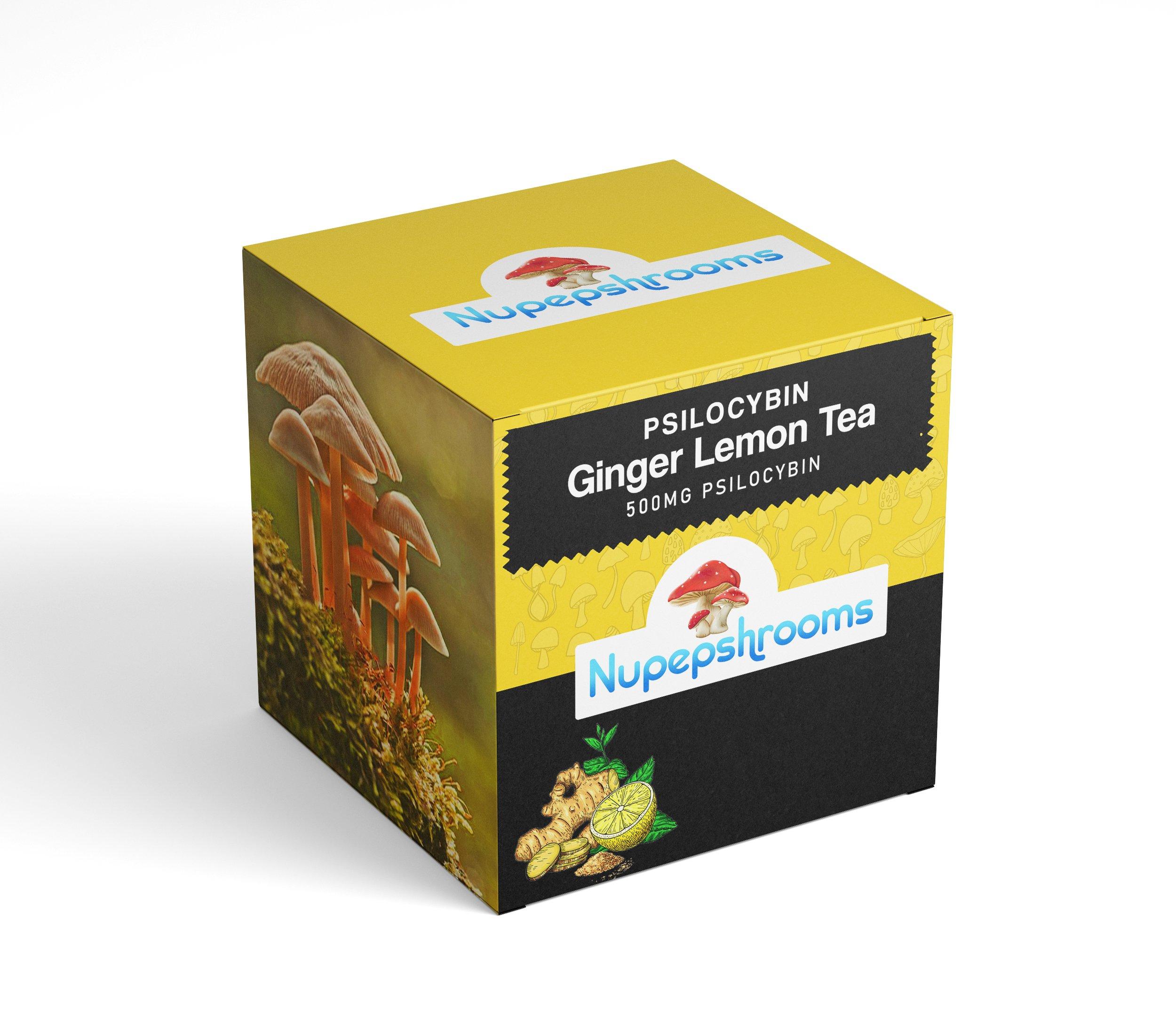 Psilocybin Ginger Lemon Tea | 1000MG