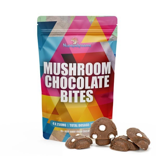 Shroom Infused Chocolate Bites 4x1000MG