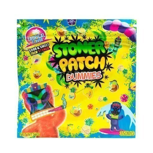 Stoner Patch Dummies 350mg THC