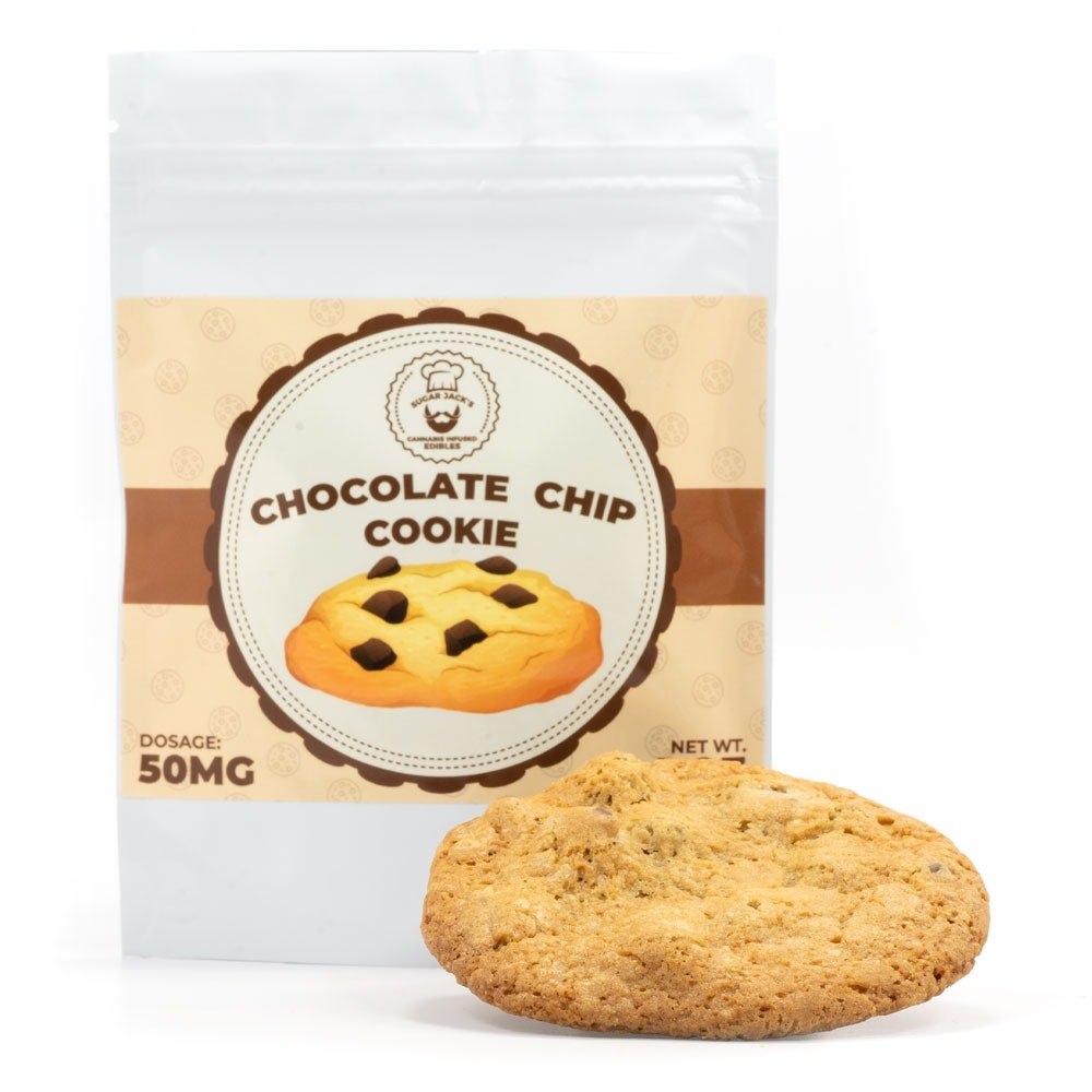 Sugar Jack's 50mg THC Chocolate Chip Cookie