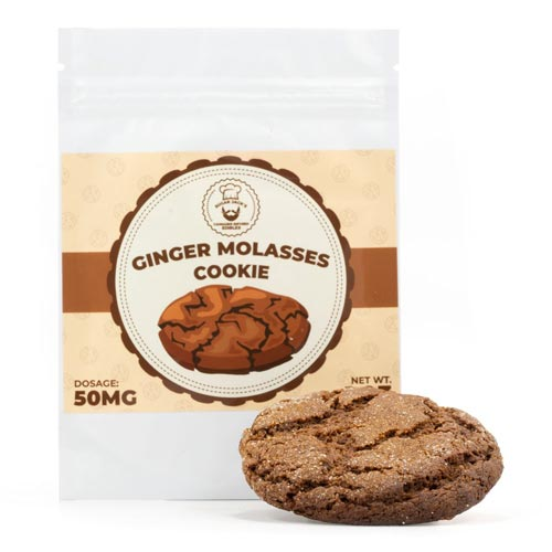 Sugar Jack's 50mg THC Ginger Molasses Cookie