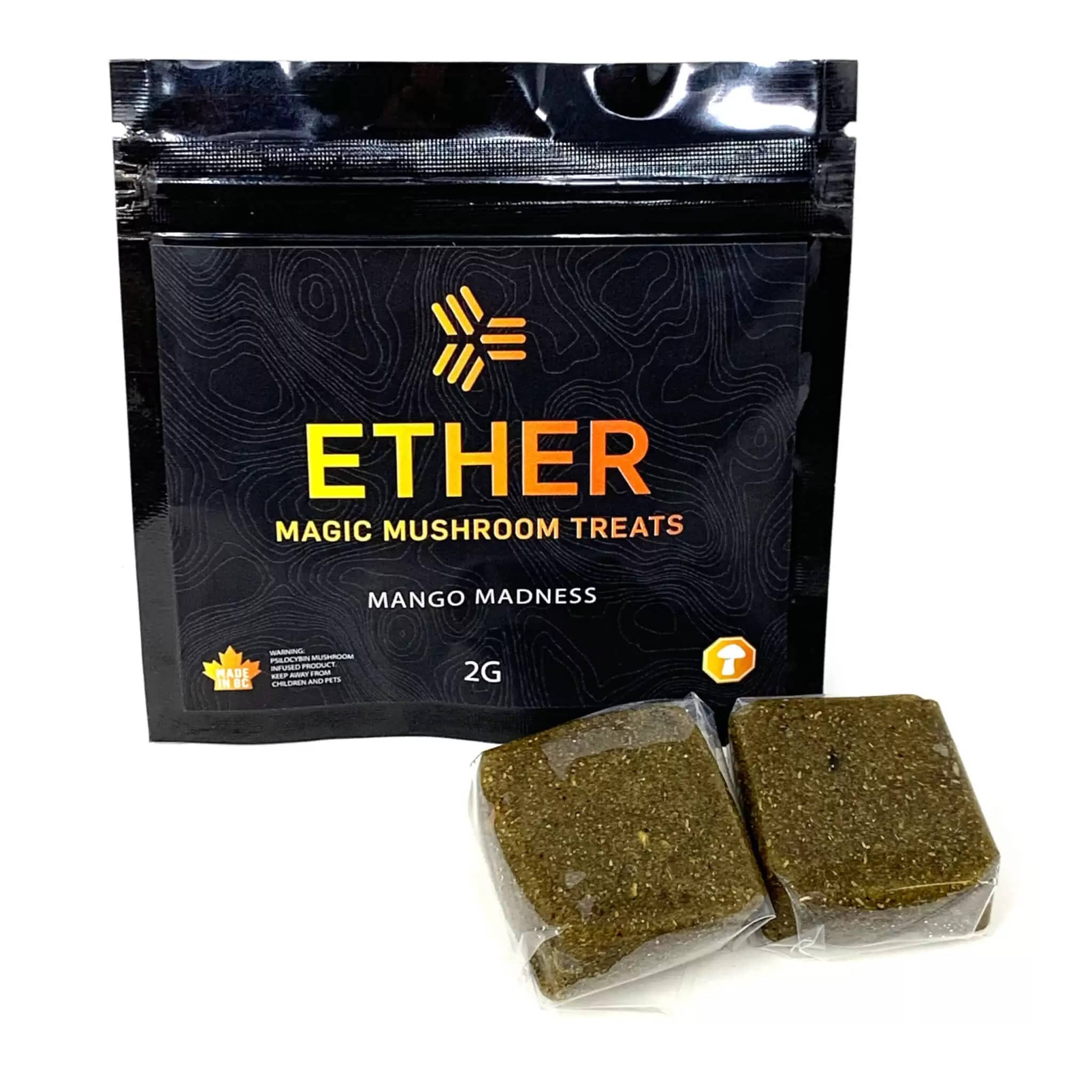 Ether Magic Mushroom Treats Mango Jelly 2000mg