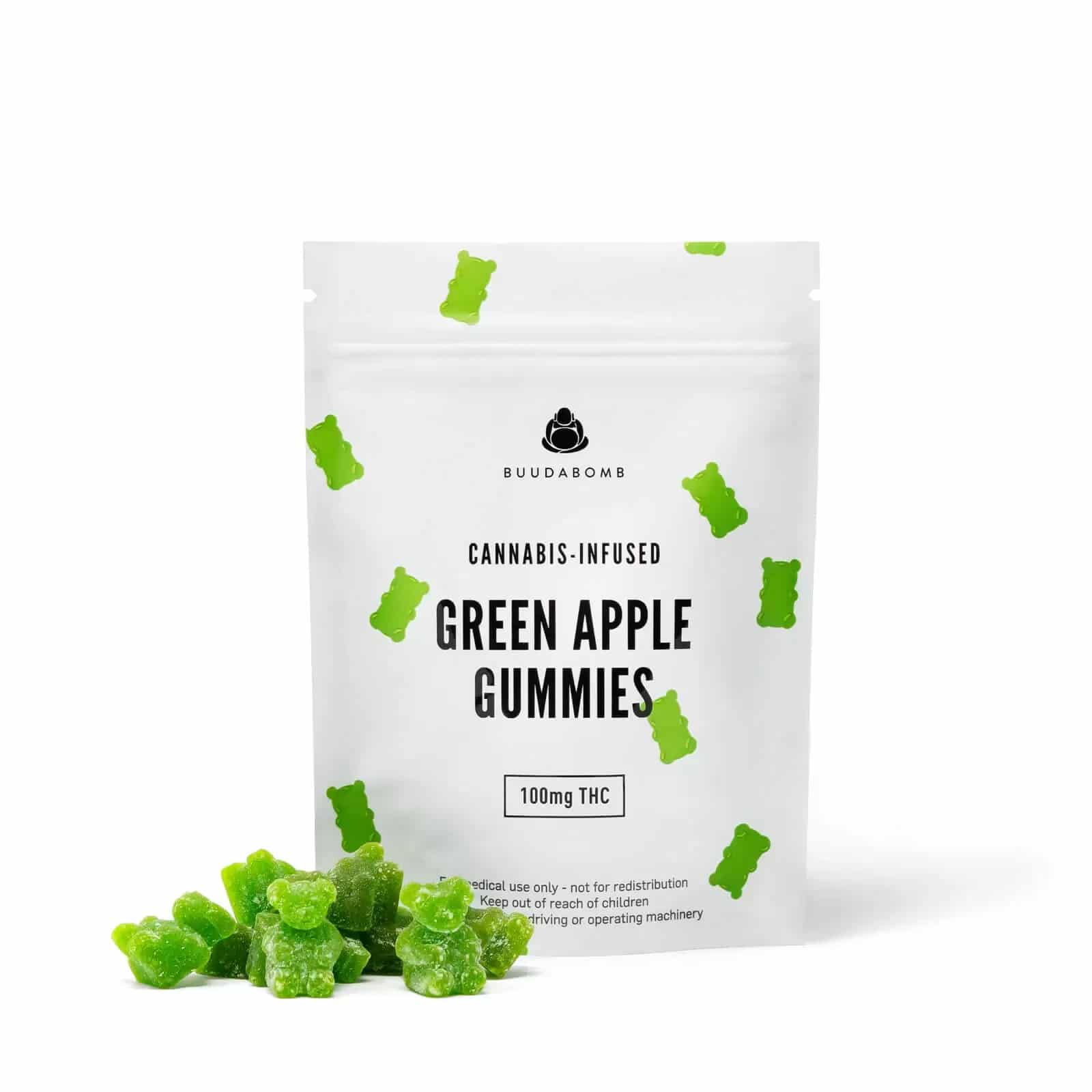 Buddha Bomb Green Apple Gummies