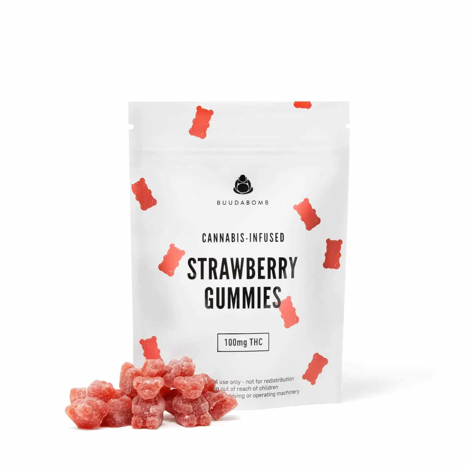 BuudaBomb Strawberry Gummies