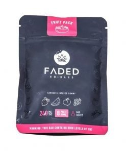 Faded Fruit Pack Gummies 240MG THC